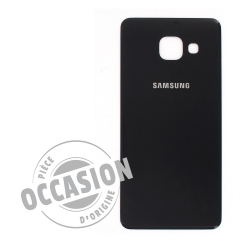 Vitre arrière Noire  d'occasion pour Samsung Galaxy A3 2016 photo 1