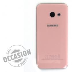Vitre arrière Rose d'occasion pour Samsung Galaxy A3 2017 Photo 1
