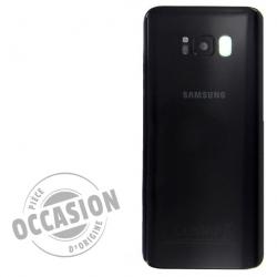 Vitre arrière d'occasion pour Samsung Galaxy S8 Noir Carbone_photo 1