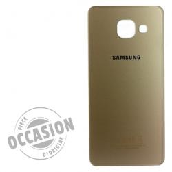 Vitre arrière Or d'occasion pour Samsung Galaxy A3 2016 Photo 1