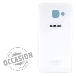 Vitre arrière d'occasion Blanche pour Samsung Galaxy A3 2016 Photo 1