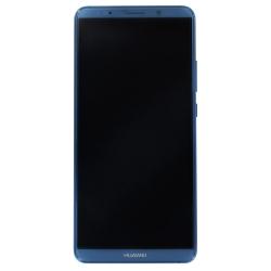 Bloc écran bleu COMPLET pré-monté sur chassis + batterie pour Huawei Mate 10 Pro_photo1