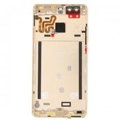 Coque arrière Or avec châssis pour Huawei P9 photo 2