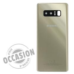 Vitre arrière Or Topaze d'occasion pour Samsung Galaxy Note 8_photo1