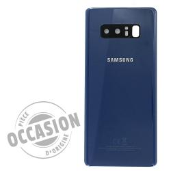 Vitre arrière Bleu Roi d'occasion pour Samsung Galaxy Note 8_photo1