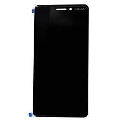 Ecran Noir avec vitre et LCD prémonté pour Nokia 6.1_photo1