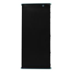 Bloc Ecran Vert avec vitre et LCD sur châssis pour Sony Xperia XA2 Plus_photo1