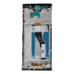 Bloc Ecran Or avec vitre et LCD sur châssis pour Sony Xperia XA2 Plus_photo2