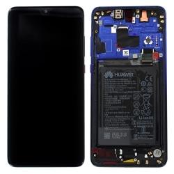 Bloc Ecran Twilight complet pré-monté + batterie sur châssis pour Huawei Mate 20_photo1