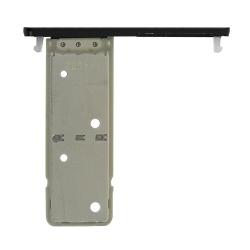 Rack tiroir cartes SIM Noir pour Sony Xperia XA2 Plus Dual_photo2