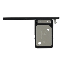 Rack tiroir carte SIM Noir pour Sony Xperia XA2 Plus_photo1