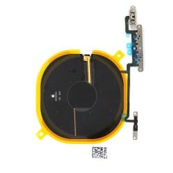 Nappe de charge par induction + nappe volume / vibreur pour iPhone X_photo1