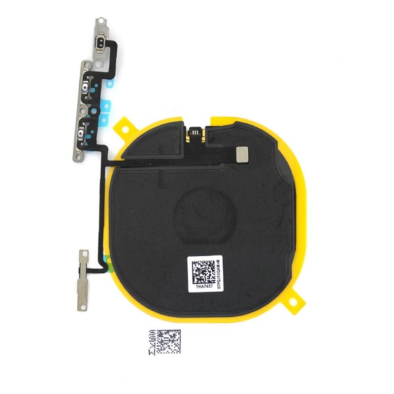Nappe de charge par induction + nappe volume / vibreur pour iPhone X_photo2