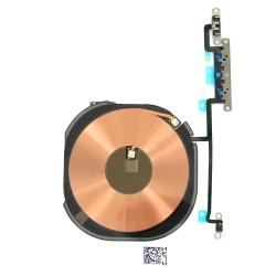 Nappe de charge par induction + nappe volume / vibreur pour iPhone XS Max_photo1