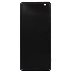 Bloc Ecran Prune sur châssis pour Sony Xperia XZ3_photo1