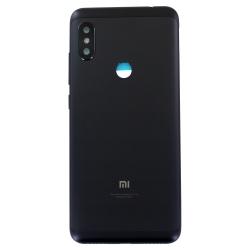 Coque arrière noire pour Xiaomi Redmi Note 6 Pro_photo1