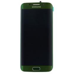 Écran Amoled Vert et vitre pré-montés pour Samsung Galaxy S6 Edge_photo1