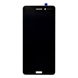 Écran Noir avec vitre et LCD pré-monté pour Nokia 6_photo1