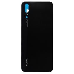 Vitre arrière Noire d'origine pour Huawei P20_photo1
