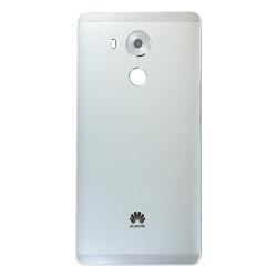 Coque arrière avec châssis pour Huawei Mate 8 Blanc_photo1