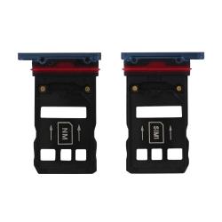 Rack tiroir carte SIM et SD Bleu pour Huawei Mate 20 Pro_photo1
