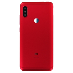 Coque arrière Rouge pour Xiaomi Redmi Note 6 Pro_photo1