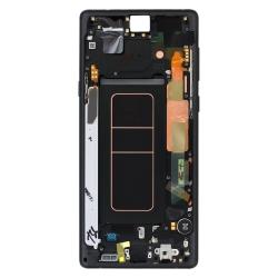 Bloc Écran Amoled et vitre prémontés pour Samsung Galaxy Note 9 Noir_photo2