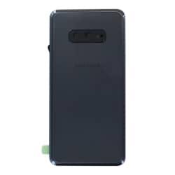 Vitre arrière Noire d'origine pour Samsung Galaxy S10e Noir Prisme_photo1