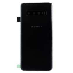 Vitre arrière d'origine pour Samsung Galaxy S10 Noir Prisme_photo1