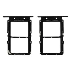 Pière d'origine pour remplacer le rack tiroir dual sim du Honor View 20 noir