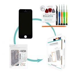 Kit de réparation Brico-phone avec écran NOIR iPhone 5S RAPPORT QUALITE / PRIX pré assemblé