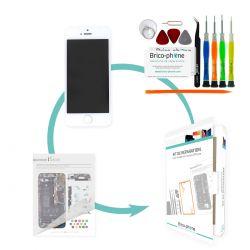 Kit de réparation Brico-phone avec écran BLANC iPhone 5S et  SE PREMIUM pré assemblé