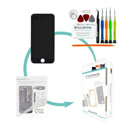 Kit de réparation Brico-phone avec écran NOIR iPhone 6 PLUS RAPPORT QUALITE / PRIX pré assemblé