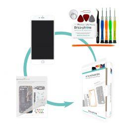 Kit de réparation Brico-phone avec écran BLANC iPhone 6 PLUS RAPPORT QUALITE / PRIX pré assemblé