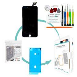 Kit de réparation Brico-phone avec écran NOIR iPhone 6S Plus PREMIUM Pré-assemblé