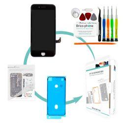 Kit de réparation Brico-phone avec écran NOIR iPhone 7 PREMIUM Pré assemblé
