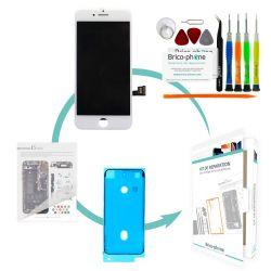 Kit de réparation Brico-phone avec écran BLANC iPhone 7 Plus PREMIUM Pré assemblé