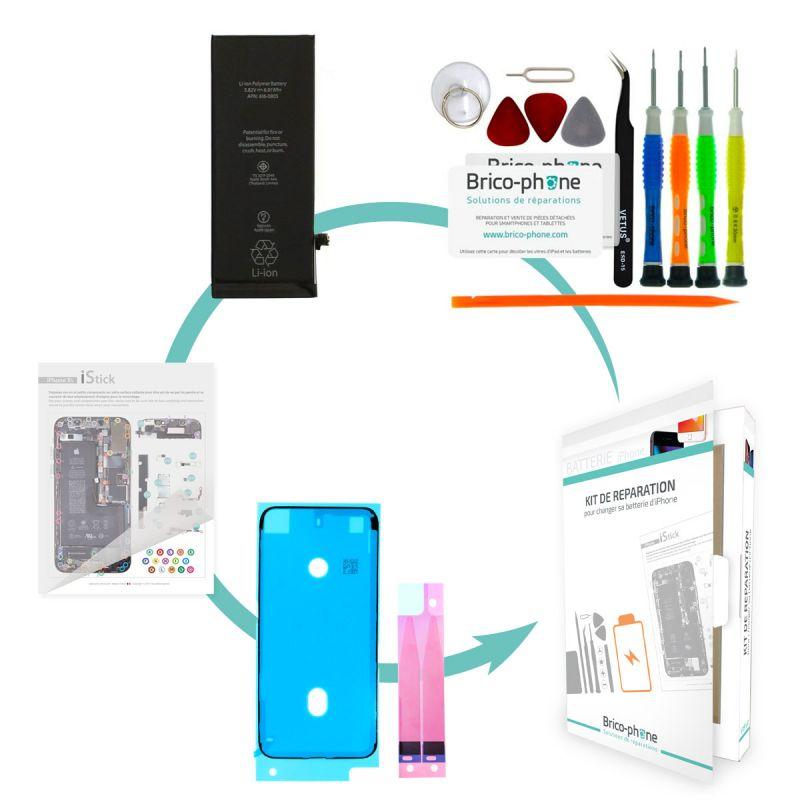 Kit de réparation Brico-phone avec batterie identique à l'orignale iPhone 6S