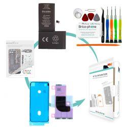 Kit de réparation Brico-phone avec batterie compatible iPhone X