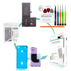 Kit de réparation Brico-phone avec batterie identique à l'origine iPhone X
