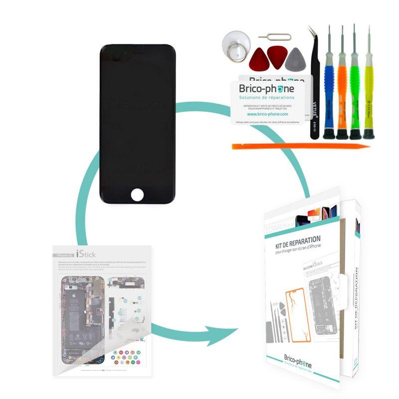 Forfait remplacement écran NOIR iPhone 6 PLUS RAPPORT QUALITE / PRIX