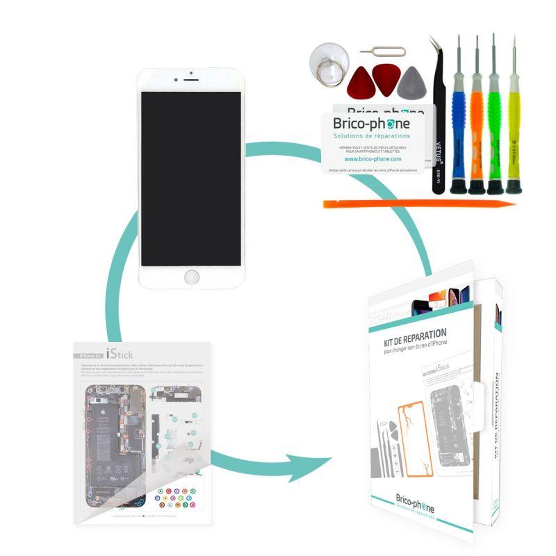 Forfait remplacement écran BLANC iPhone 6 PREMIUM