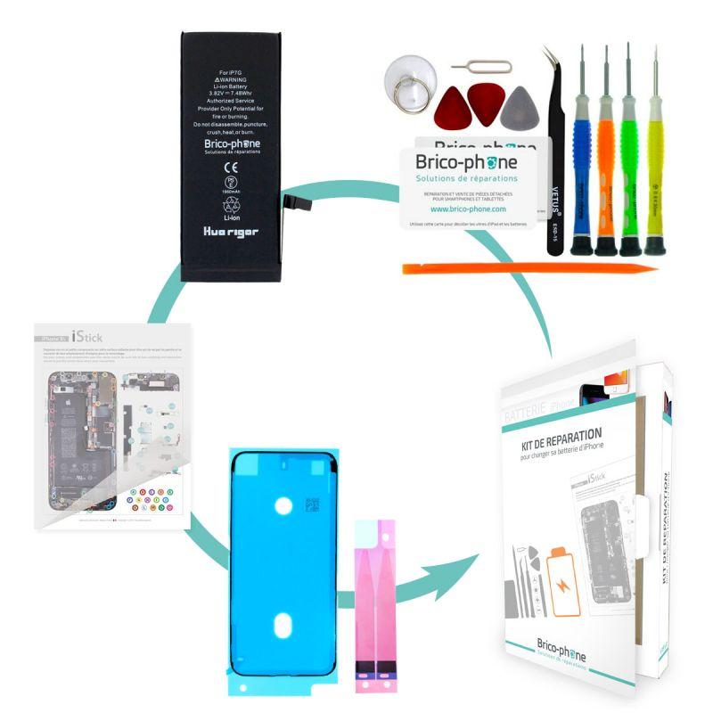 Forfait remplacement batterie compatible iPhone 7