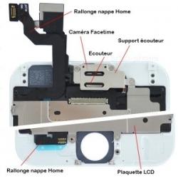 Ecran BLANC iPhone 5 RAPPORT QUALITE / PRIX pré-assemblé photo 3