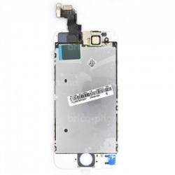 Ecran BLANC iPhone 5S RAPPORT QUALITE / PRIX pré-assemblé photo 2