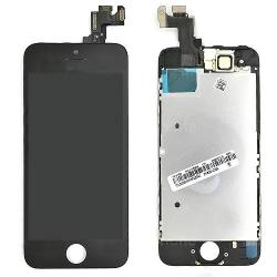 Ecran NOIR iPhone 5S et SE PREMIUM pré-assemblé photo 2