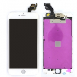 Ecran BLANC iPhone 6 PLUS RAPPORT QUALITE / PRIX pré-assemblé photo 2