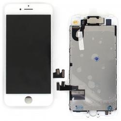 Ecran BLANC iPhone 7 PREMIUM pré-assemblé photo 2