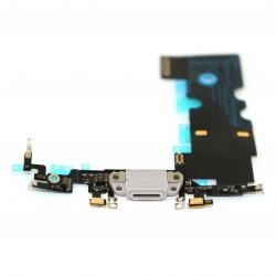 Connecteur de charge gris pour iPhone 8 photo 2