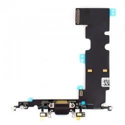 Connecteur de charge noir pour iPhone 8 Plus photo 1